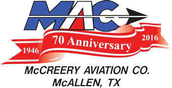 MAC 70th Anniversary, McCreery Aviation Co. McAllen, TX